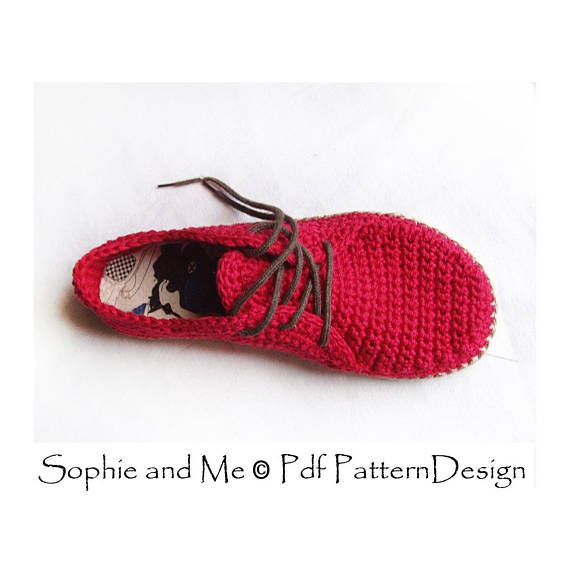Flip-Flop Oxfords Crochet Pattern. | zapatos de bebe | Pinterest ...