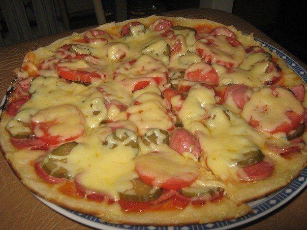 Пицца сметана майонез яйцо мука
