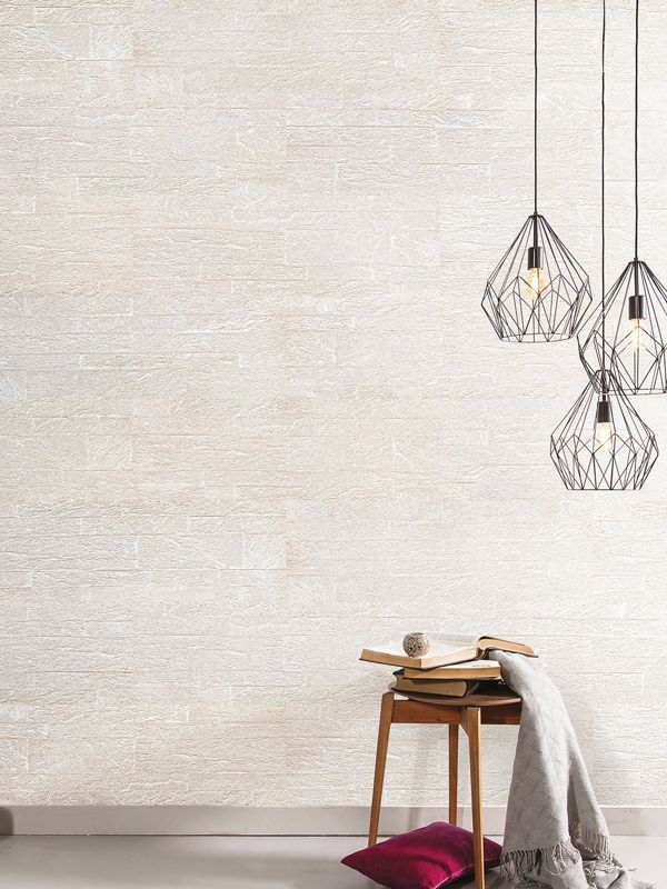We Love These Cork Wall Tiles With A White Brick Look Sophisticated And Eco Friendly Cork Wall Tiles Are The New Up And Coming Trend In Interior Design Cork