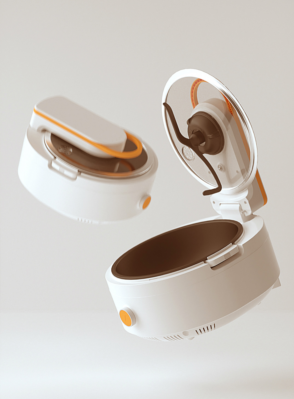 Automated Stir Fryer on Behance