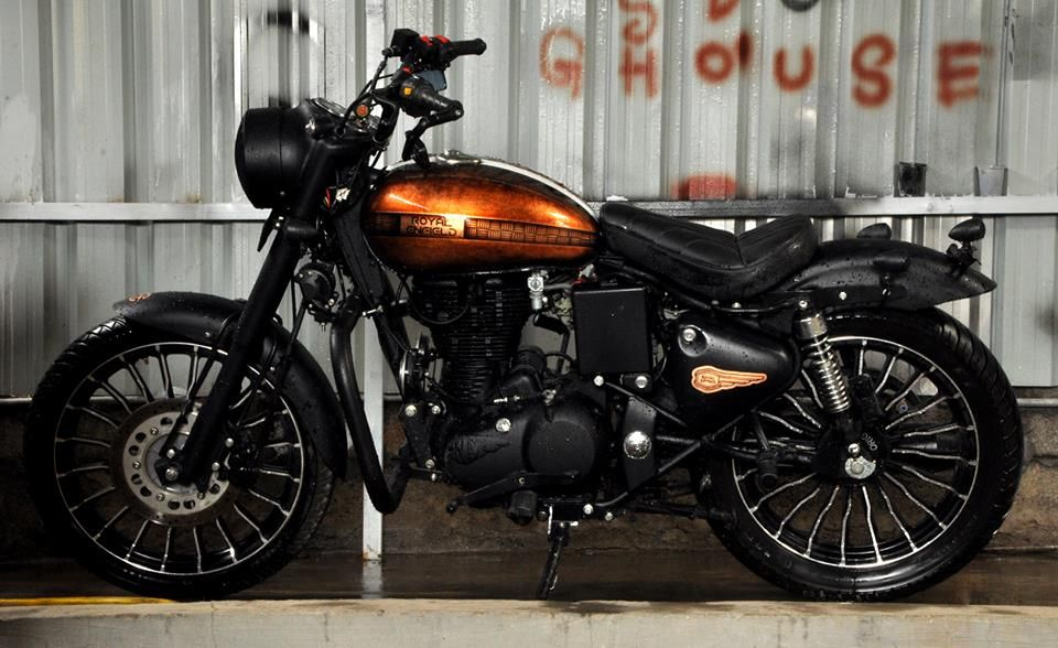 Cupris Royal Enfield Classic 350 Paint By Eimor Cistoms Enfield