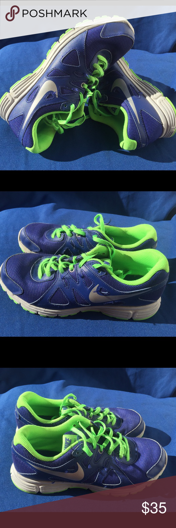 Boys Nike revolution size 6Y Gently used Nike Shoes Sneakers
