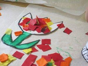 We made tissue paper flowers in preschool tissue paper eric carle we made tissue paper flowers in preschool mightylinksfo