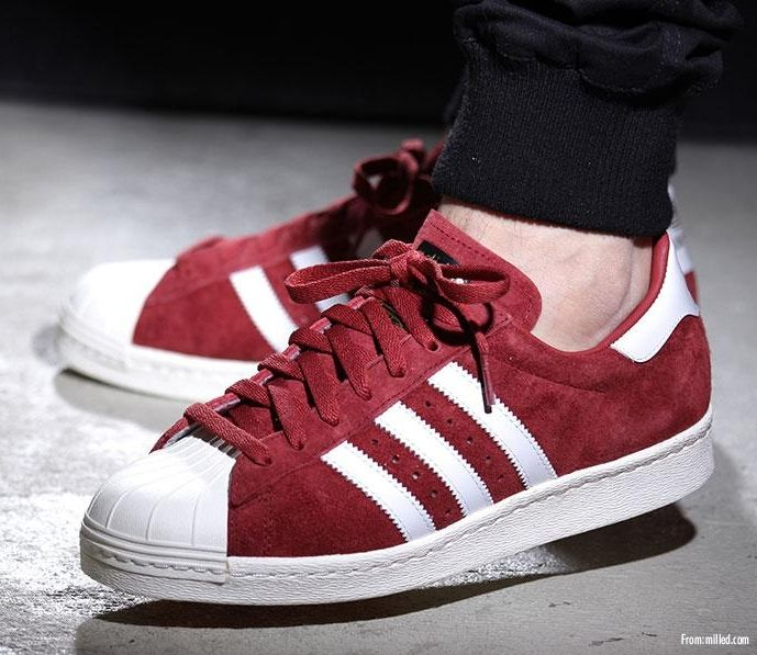 Adidas Superstar 80s DLX Suede | Cool stuff