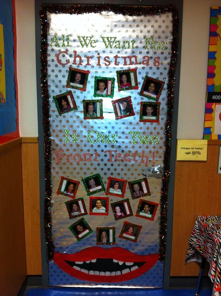 Pretty Christmas Door Decoration Ideas Classroom Decor