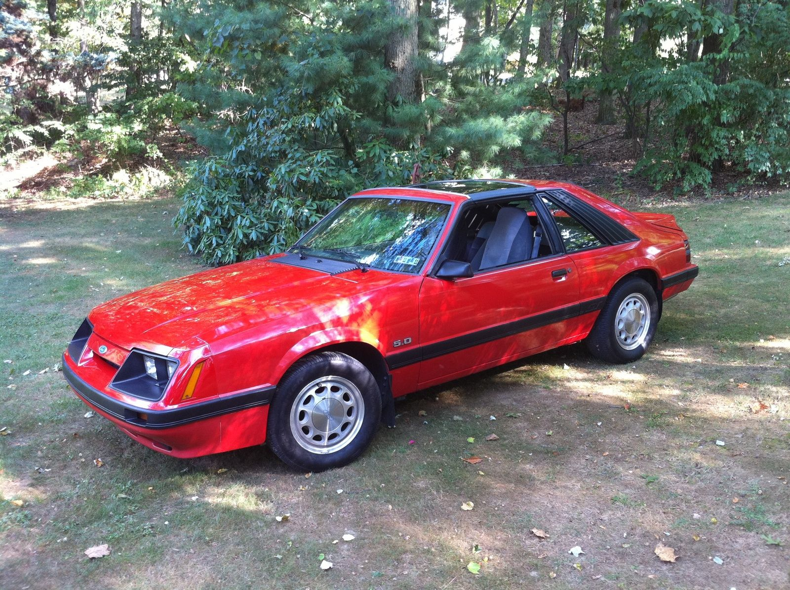 1986 Ford Mustang Gt With T Tops This Was A Very Fast And Fun Car I Traded It For An 89 Mustang Gt But If I Could Mustang Gt Mustang Cars Fox