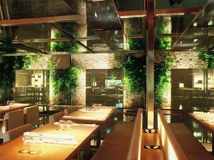 Restaurante Pandelujo Decorar Una Casa Restaurantes Restaurantes Lujosos Suelo De Vidrio
