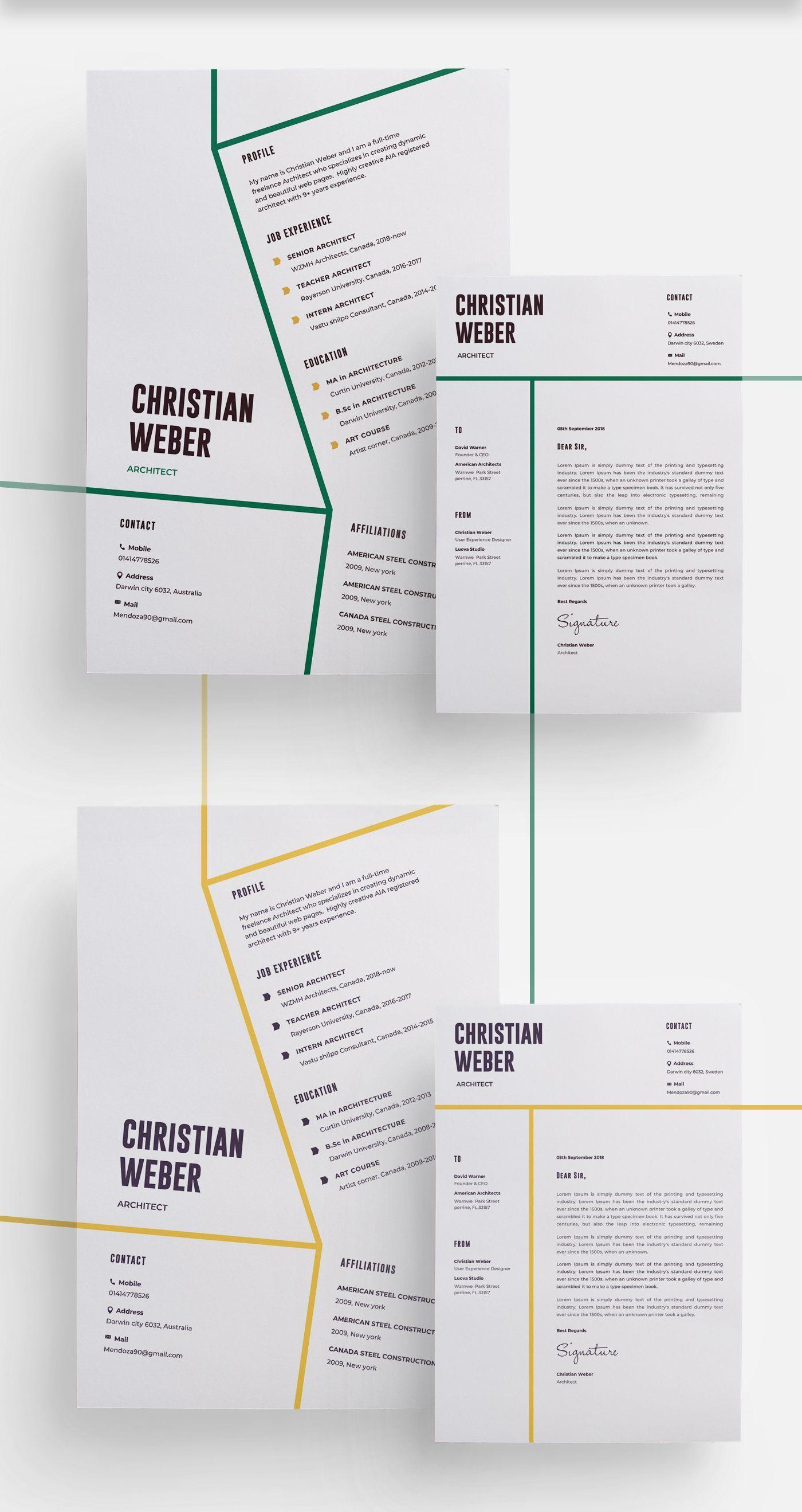 Architects Cv Resume Template Get Psd Sketch Resume Templates 2020 Ozgecmis Mimari Cv Tasarim