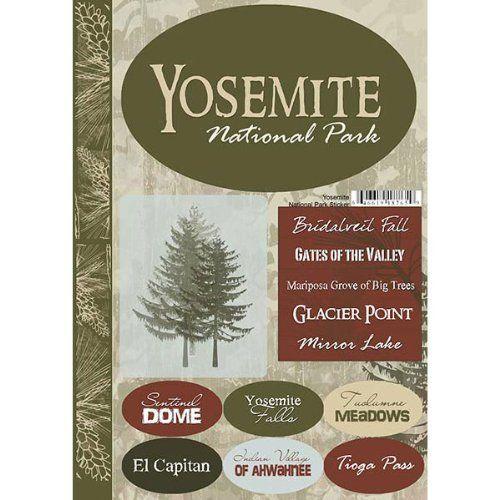 Scrapbook Customs - United States Collection - California - National Park - Cardstock Stickers - Yosemite by Scrapbook Customs, http://www.amazon.com/dp/B004VSHZP0/ref=cm_sw_r_pi_dp_BqCwrb0F88MH3
