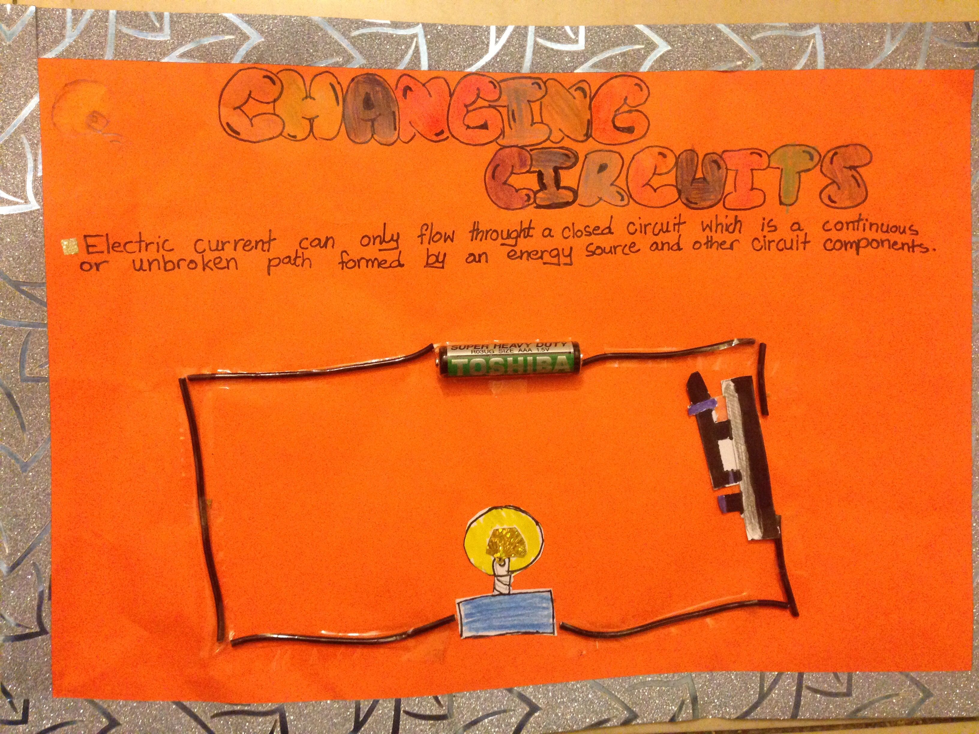 Circuit By Grade 6 Student