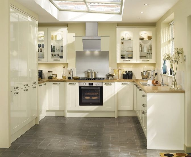 The Burford Gloss Ivory kitchen can be combined with a number of kitchen  accessories to create a classic or traditional look Burford Gloss Ivory   If only    Pinterest   Ivory  Kitchens and  . Ivory Kitchens Design Ideas. Home Design Ideas