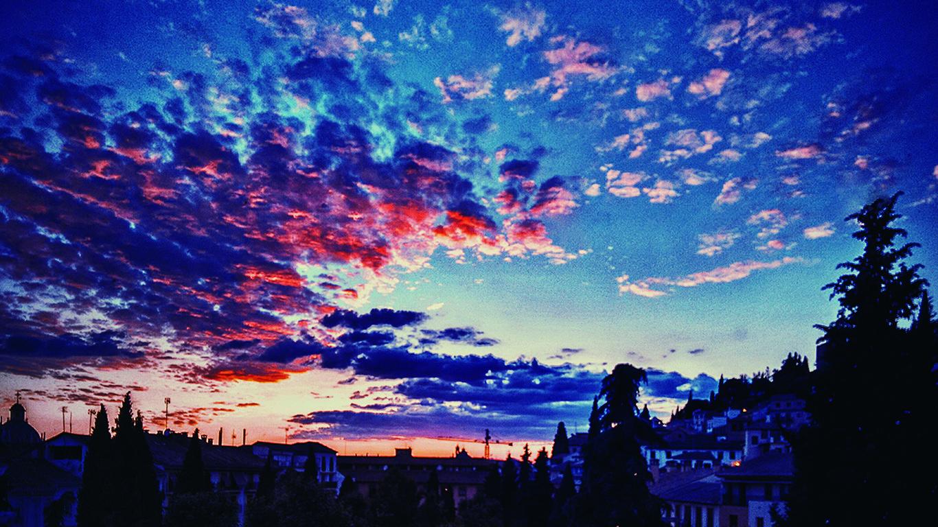 wallpaper tumblr para tu pc es arcoiris un cielo hermoso   wallpaper pc en 2019   Pinterest ...