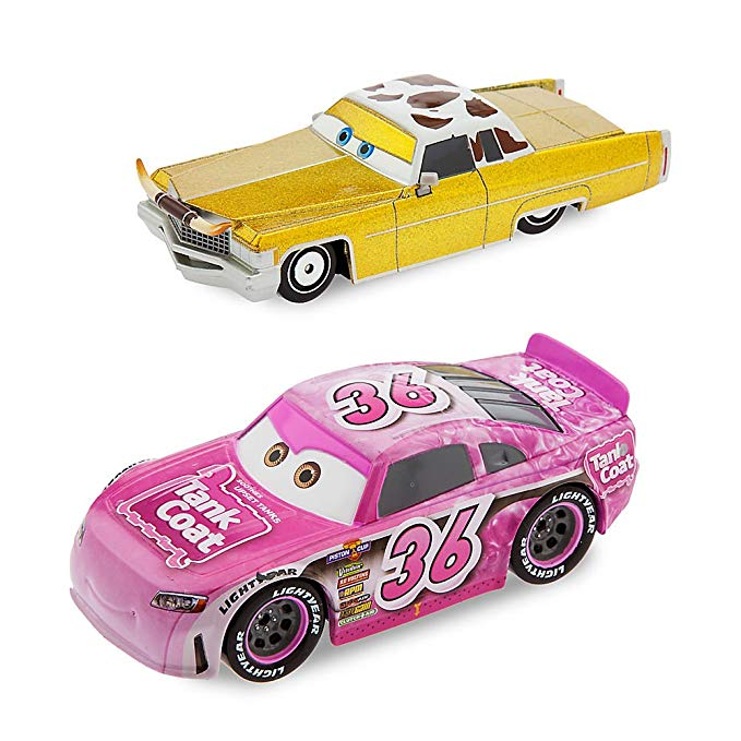 Disney Tex Dinoco and Reb Meeker Die Cast Car Set Cars 3