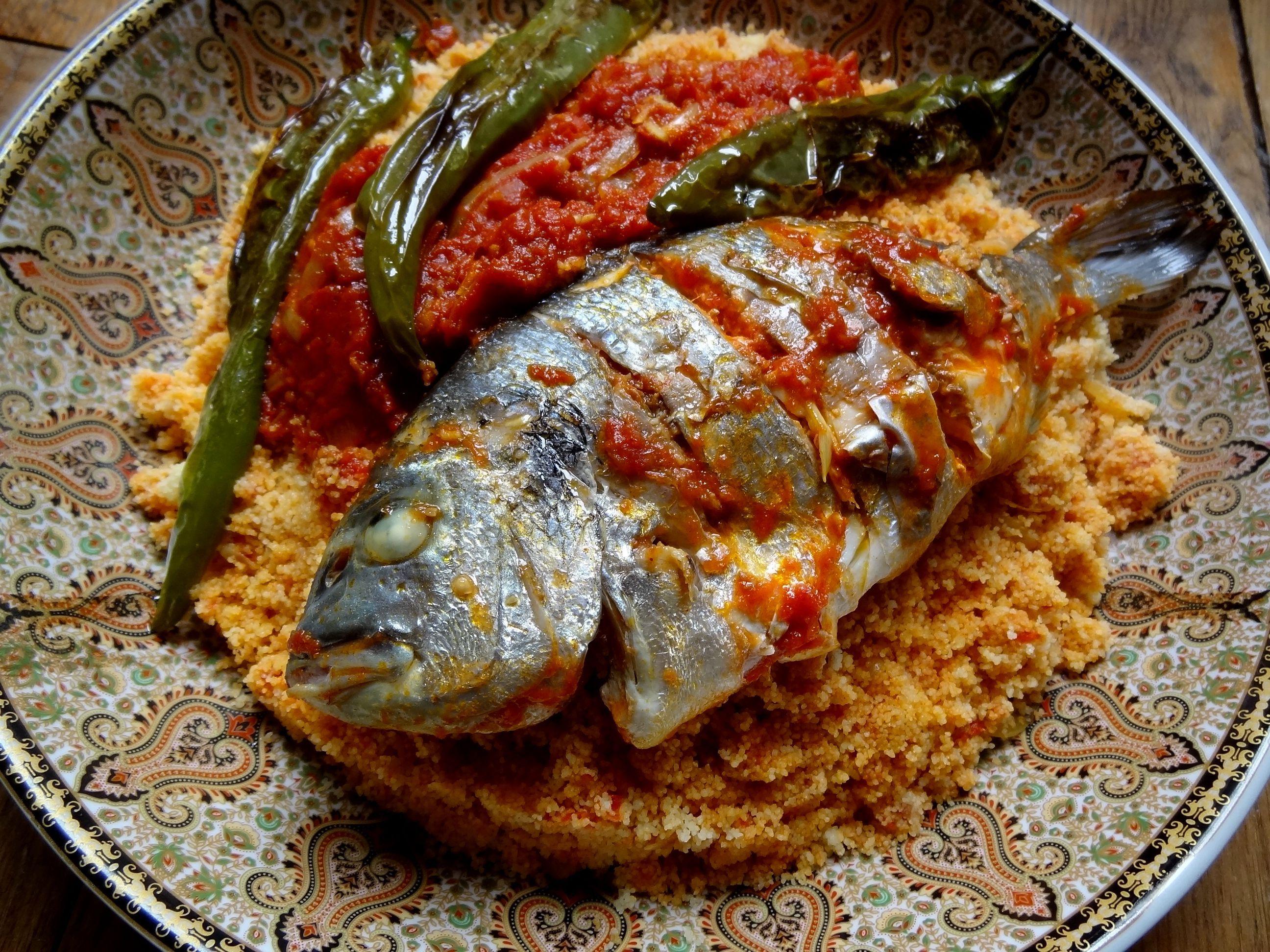 Couscous au poisson de sfax tunisie cuisiner pour la - Cuisine tunisienne poisson ...