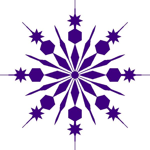 snowflake clip art purple snowflake clip art at clker com vector rh pinterest com vector snowflakes royalty free vector snowflake transparent background