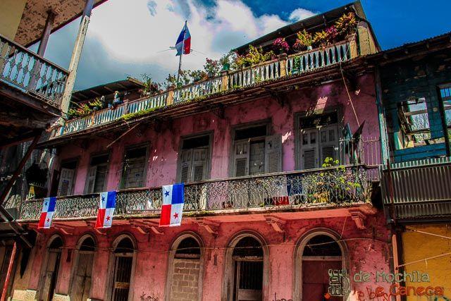 Ruas do Casco Viejo do Panama.
