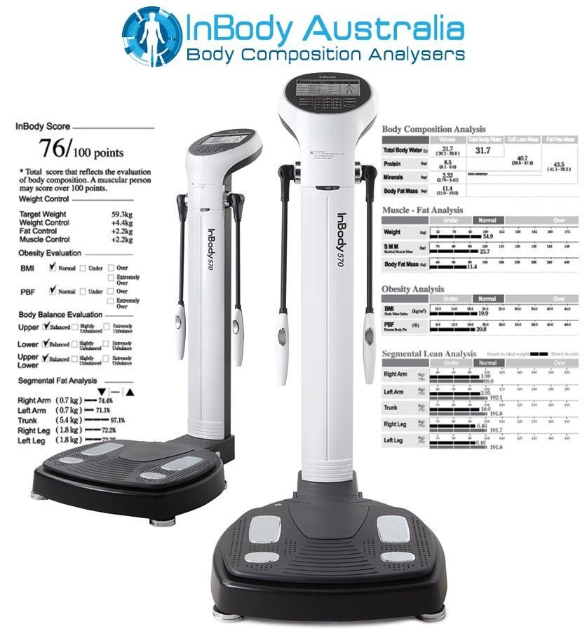 InBody 570 (With images)   Health device Body composition ...
