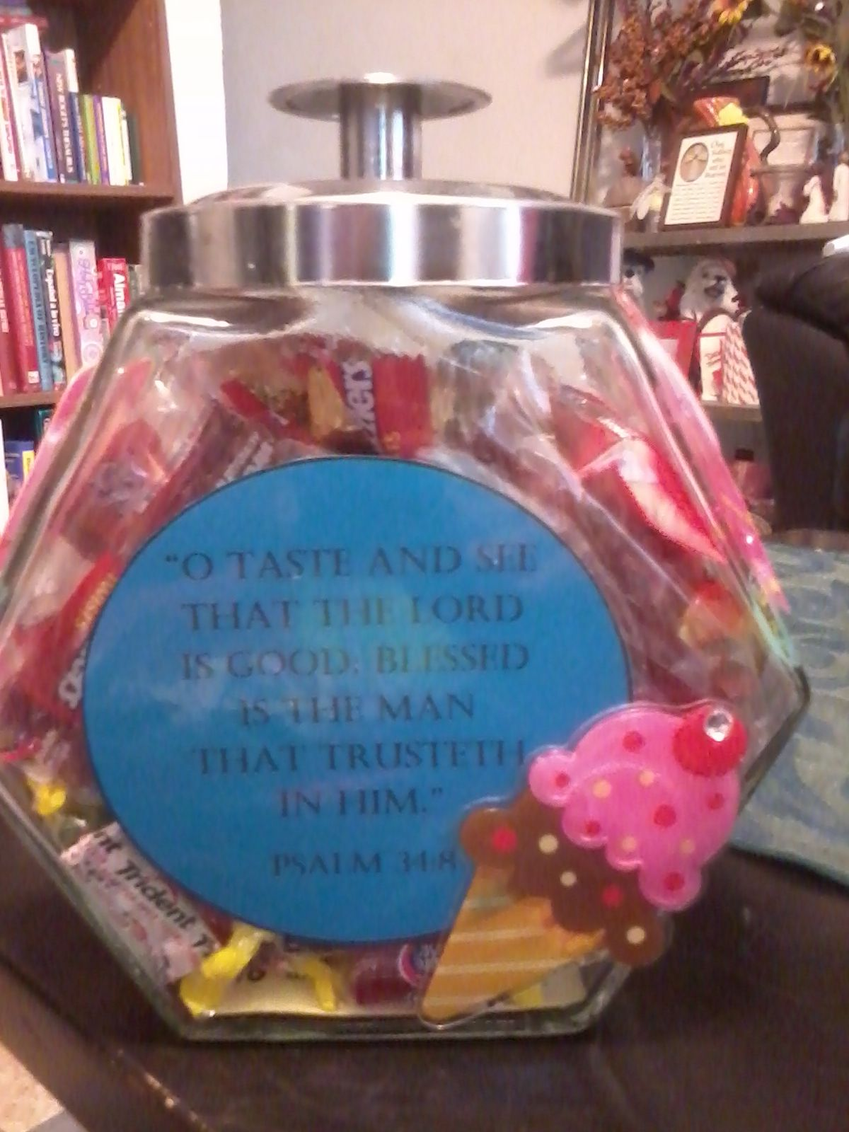 Pin By Kilra Williams On Crafts Gift Ideas Laminating Paper Dollar Stores Candy Jars