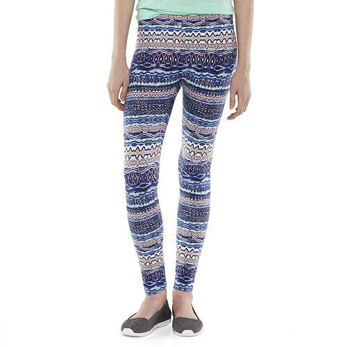 b74a00a765e3d3 Pink Republic Graphic Print Long Leggings - Juniors Kohl's, Carissa - Top  Pick