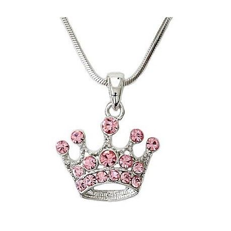 OMG this necklace is what all the pretty in pink ladies need.