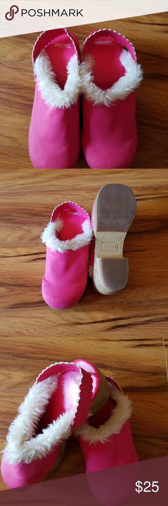 Pink dress shoes for ladies  Girls Pink Gymboree Clog Shoes Size   My Posh Picks  Pinterest