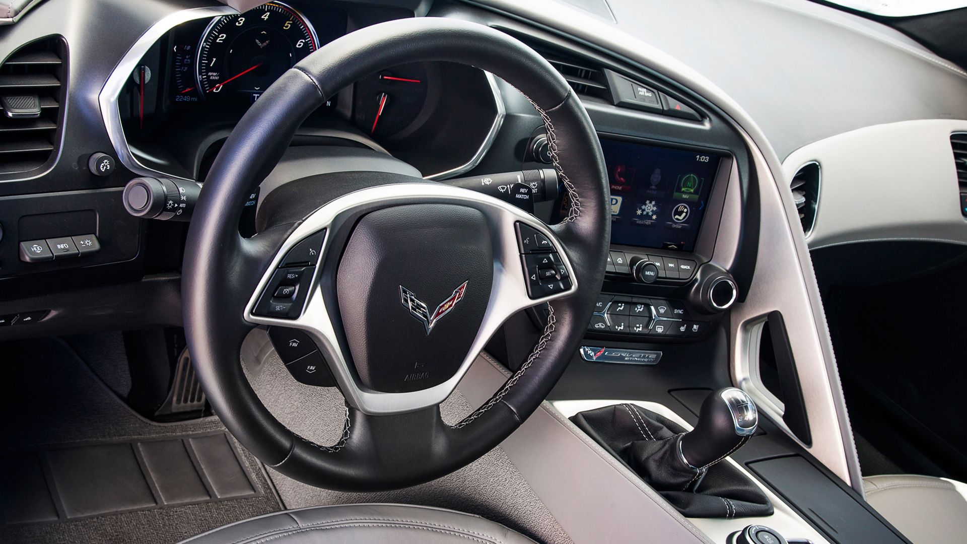 2019 Chevrolet Corvette Interior Design Corvette Car