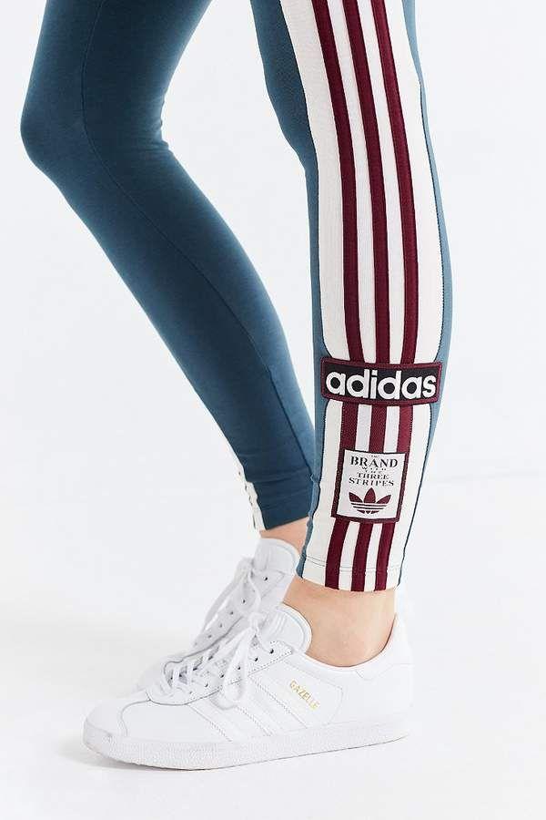 Adidas Originals Adibreak 3 Stripes Legging Leggings Striped Leggings Adidas Gym Leggings
