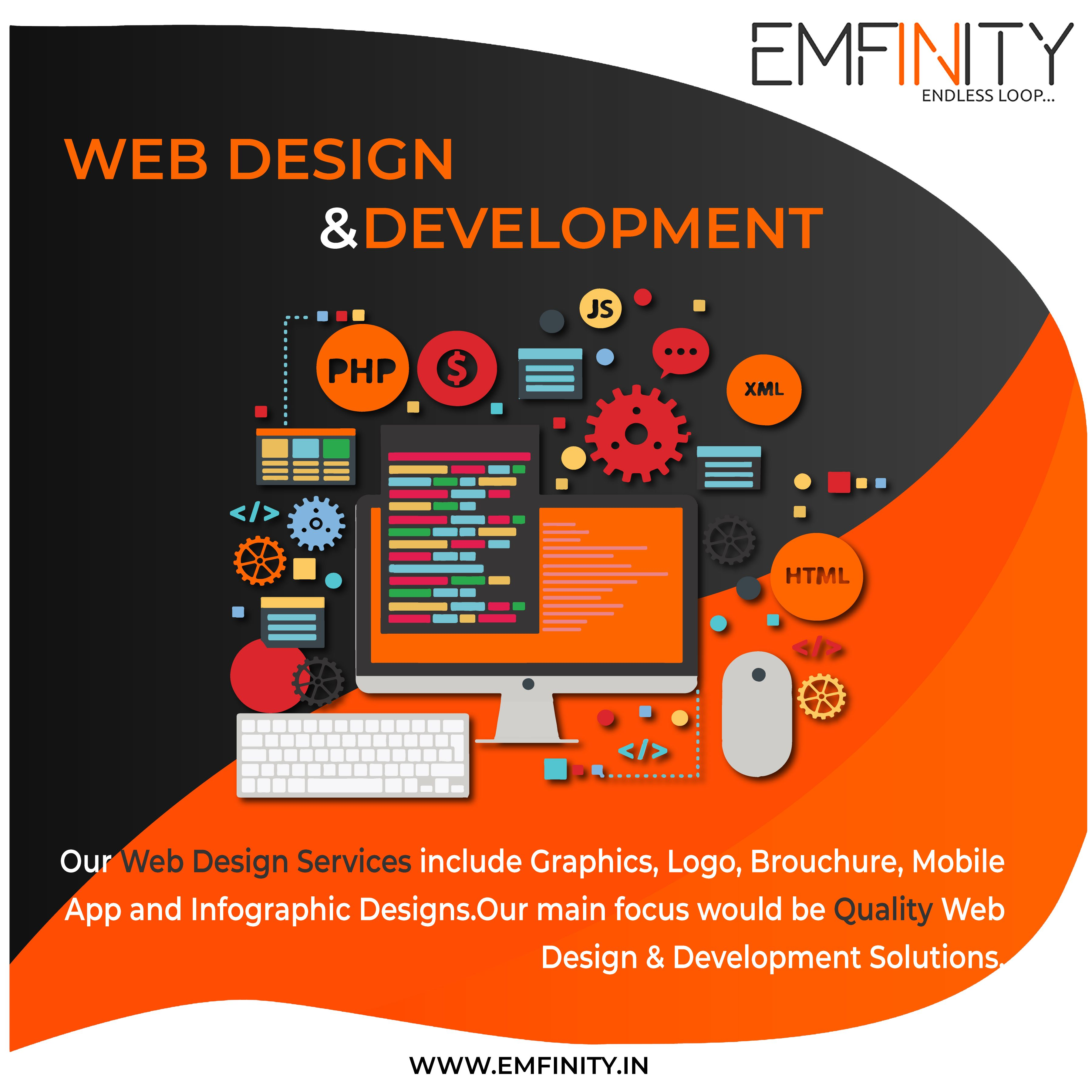 Emfinity It Solutions Is An Online Leading Web Design Web Development Digital Marketing Mobile App Deve Web Development Design Design Development Web Design