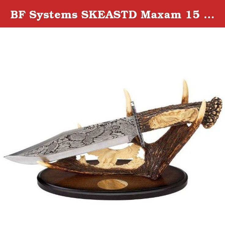 Bf Systems Skeastd Maxam 15 In Decorative Fixed Blade Knife Native