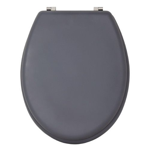 soft touch toilet seat. Soft Touch Elongated Toilet Seat Found It At Wayfair Co Uk  MDF And Stainless Steel