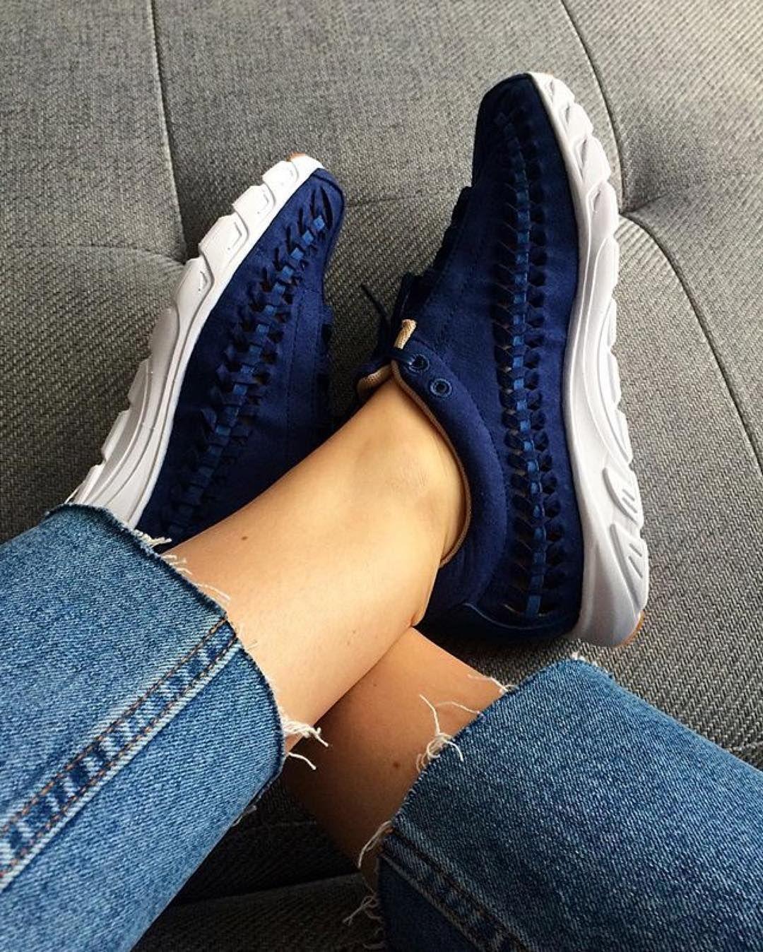 quality design 91268 ac13f Sneakers femme - Nike Mayfly Woven blue (©amyelisabethsegar)