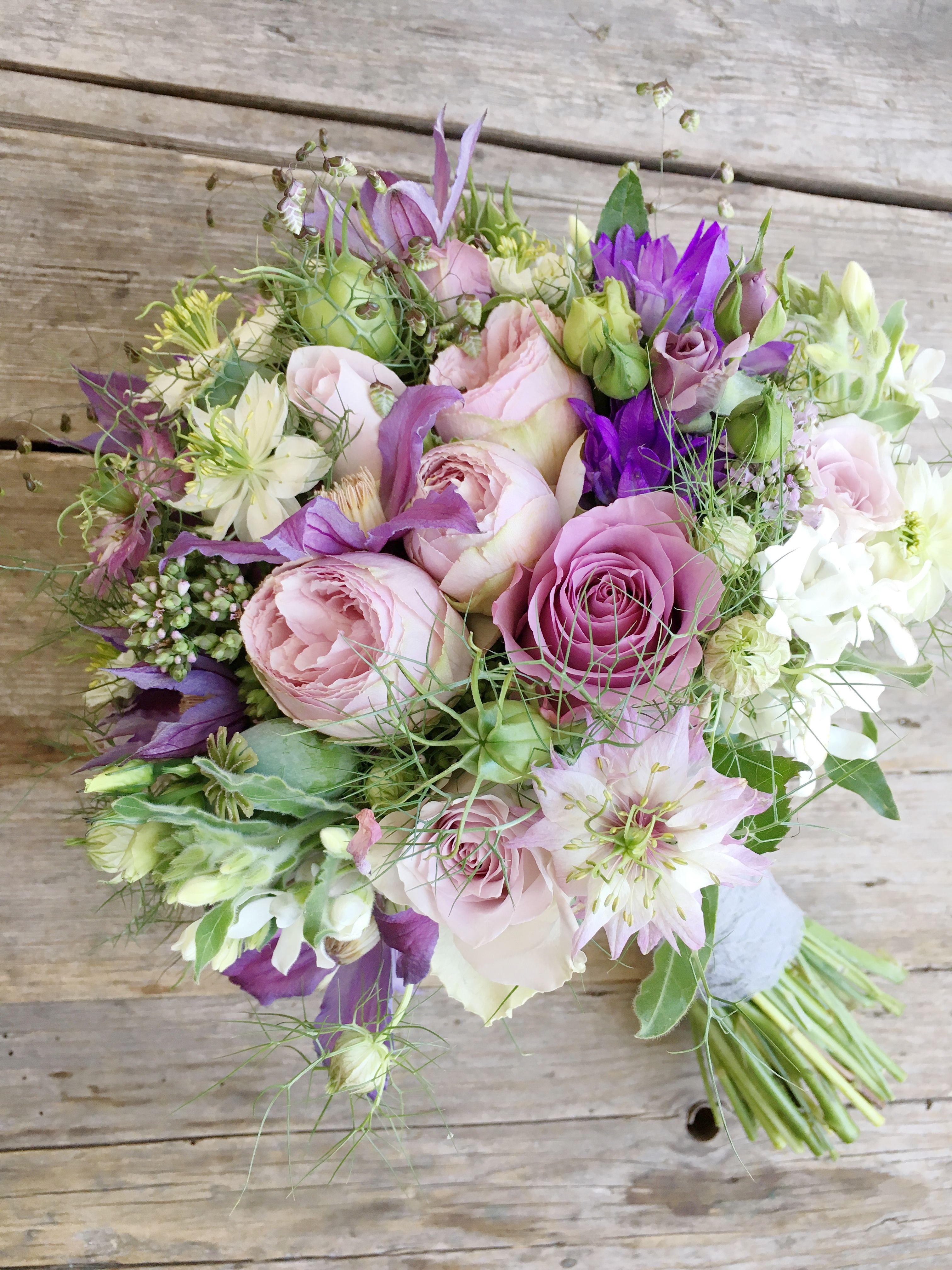 Brautstrauß flieder lila #bridalbouquetpurple