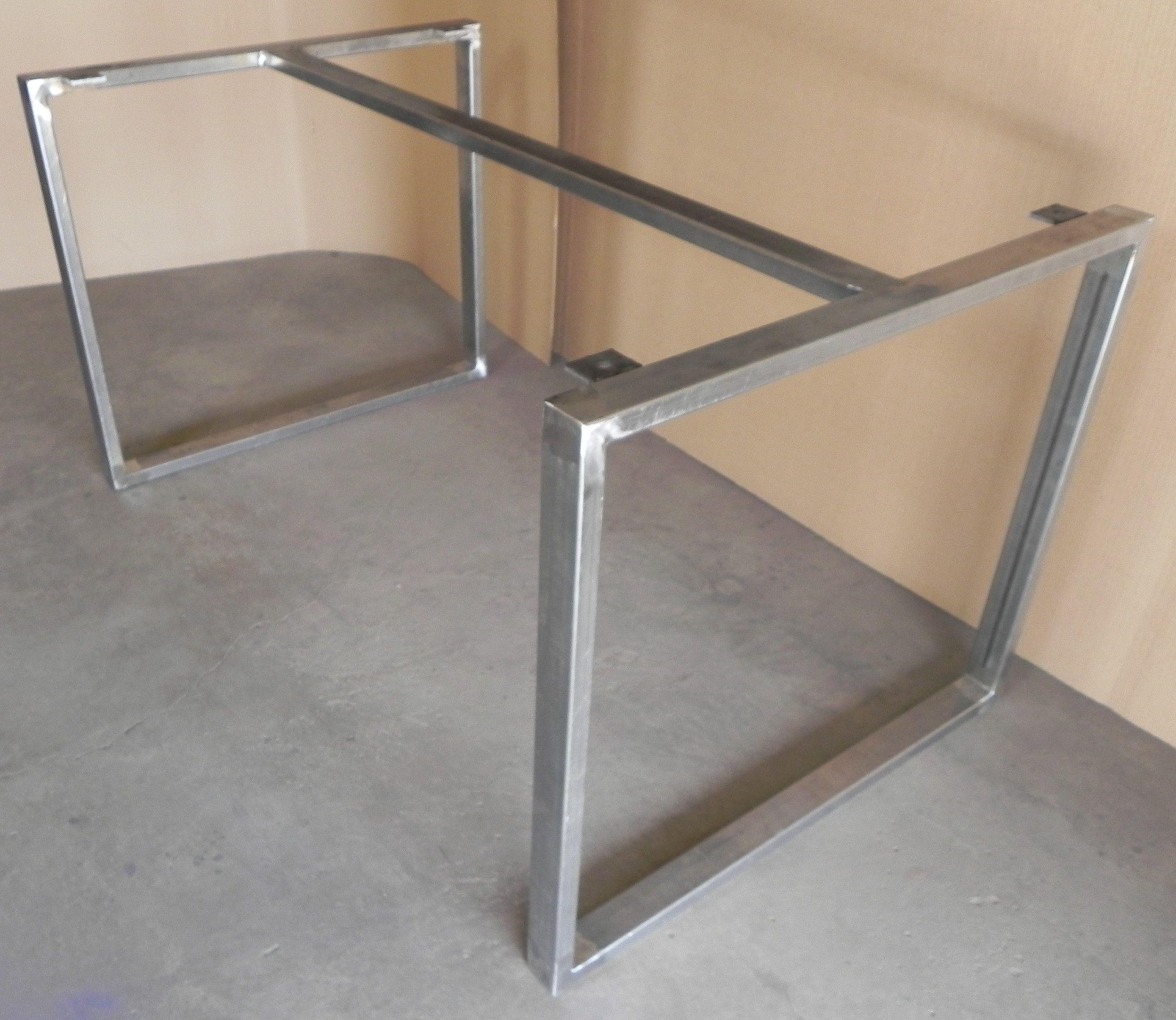 Fair modern iron table bases dining table ideas Pinterest