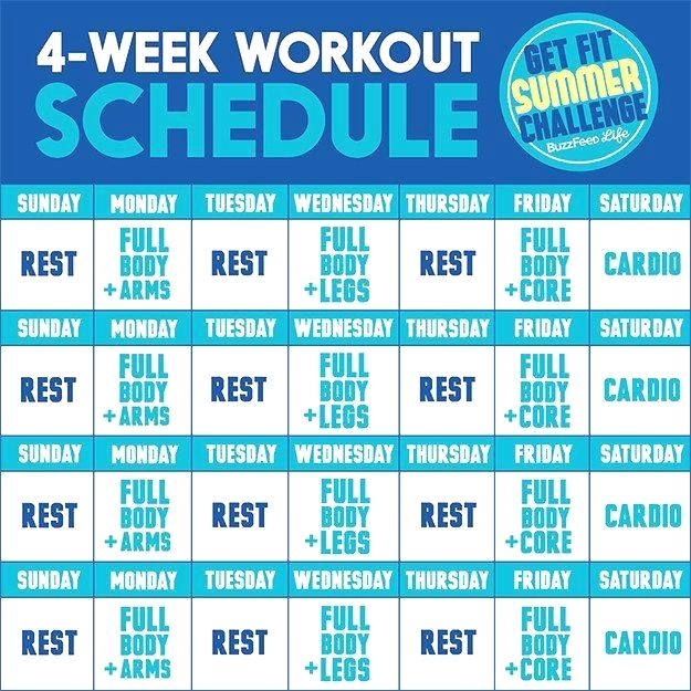 this is the only summer workout plan you need work outs salud y