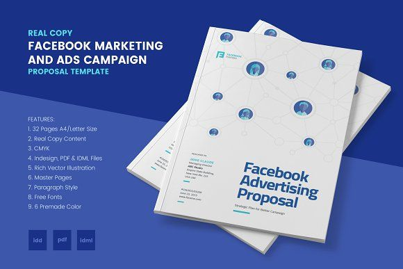 Facebook Marketing and Ads Proposal by afahmy on - advertising proposal template