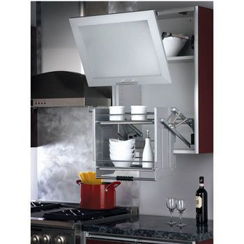 Rev A Shelf Quot Premiere Quot Pull Down Shelving System For