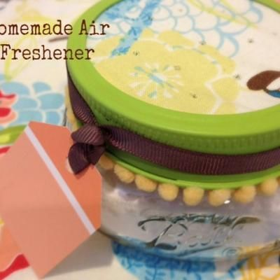 how to make air freshener at home