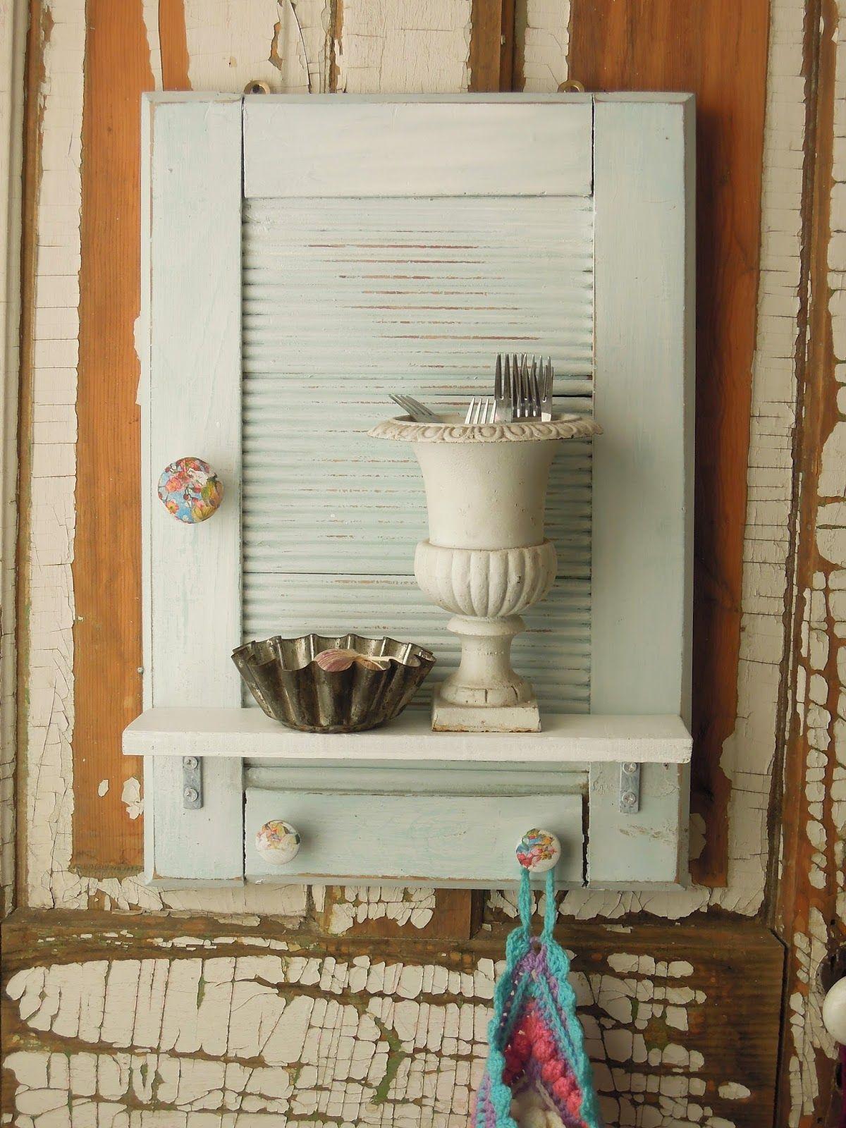 Mc Vintage Tienda Estante Organizador Muebles Reciclados  # Muebles Postigo