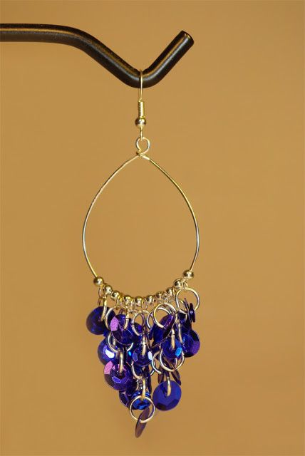 Photo of Using Sequins in Jewelry Making – Five DIY Tutorials  >>> More at www.brandywi…