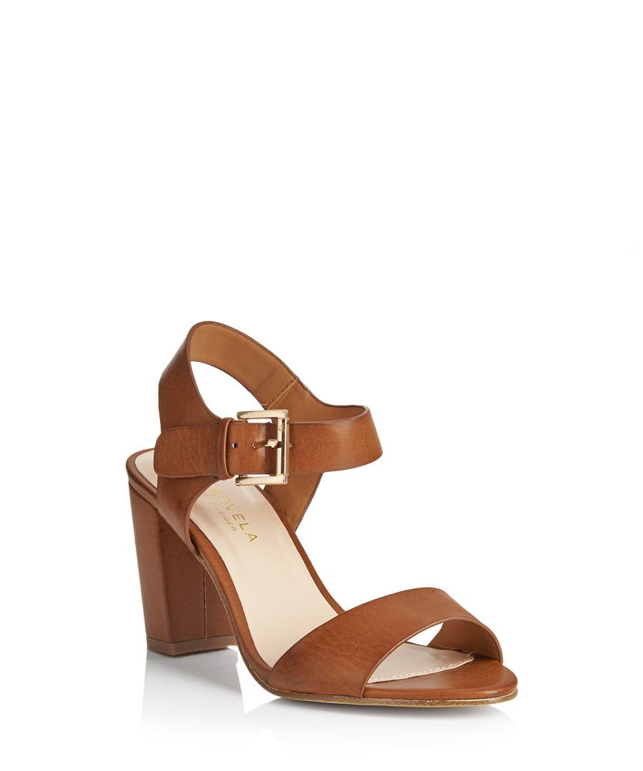 172c3513e6c Sadie tan block heel sandals Sale - Carvela Kurt Geiger
