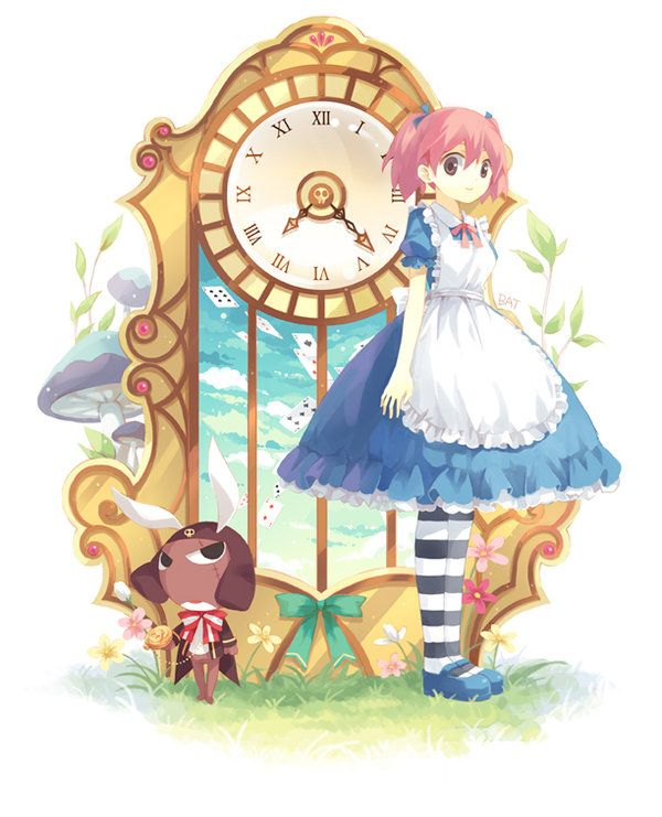 Natsumi in Wonderland -01- by coumori.deviantart.com - Giroro & Natsumi - Sergeant Frog