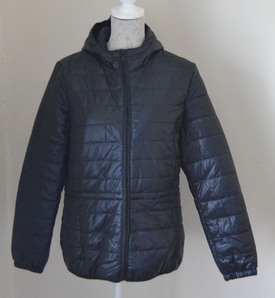 4ad5243b3901 Esmara black Lightweight Thermal padded quilted jacket coat size 18 BNWT   esmara  QuiltedCoats  Casual