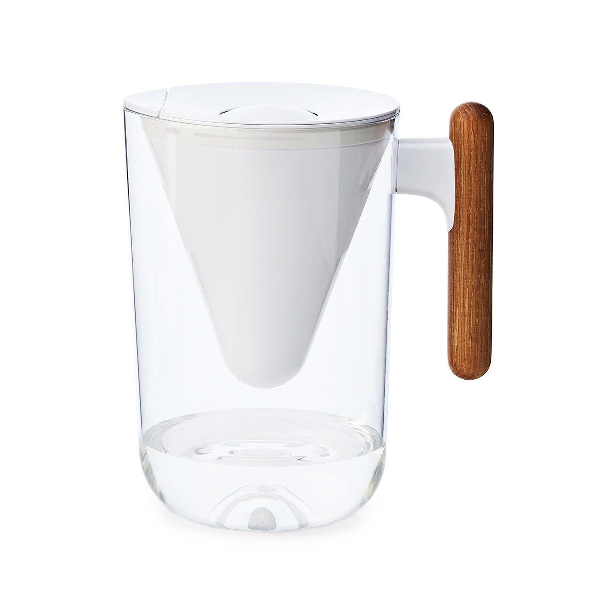 Sleek Sustainable Water Filter Pitcher Modern Kitchen Pitcher