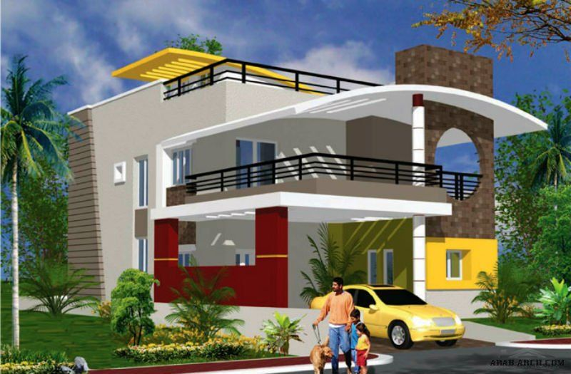 Arab Arch صفحة 100 House Design Modern Architecture Building House Front Design
