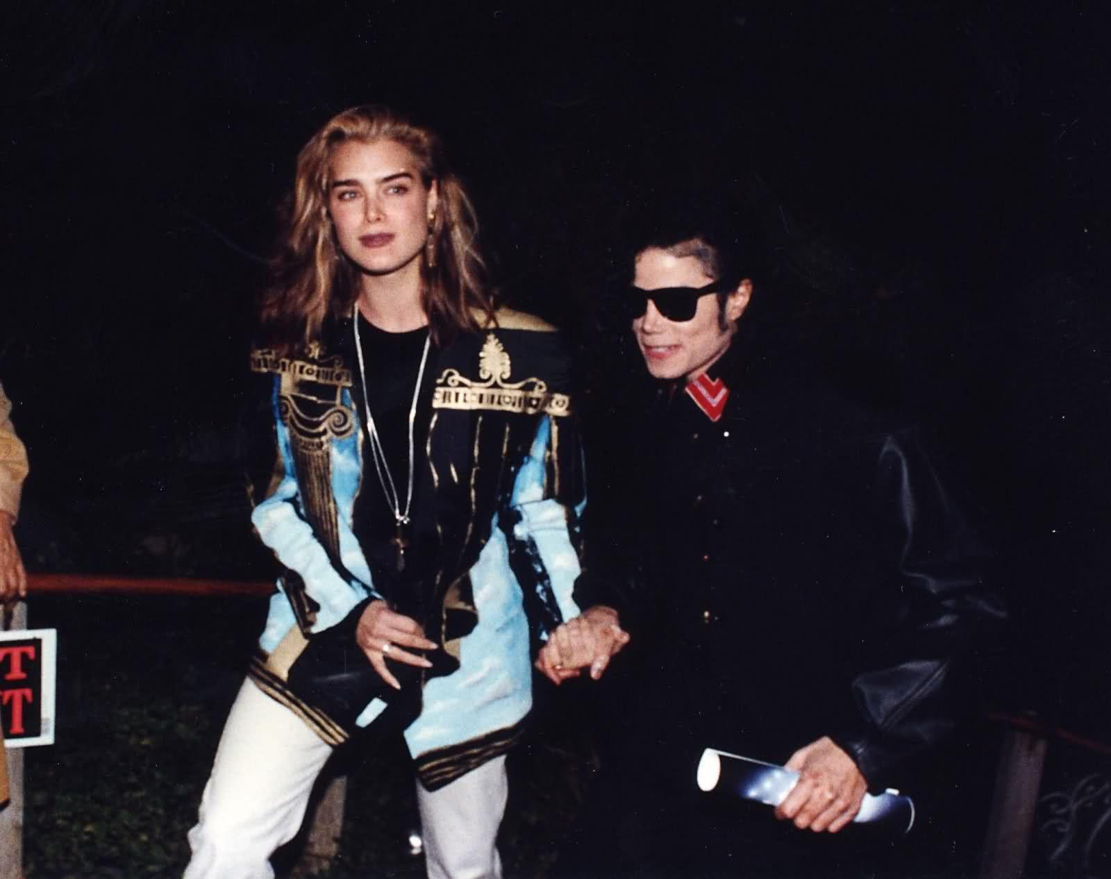 3 Michael Jackson <3 & model Brooke Shields   ❤♛ Michael Jackson ...