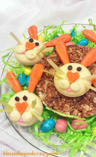 Recetas para niños: quesitos divertidos en forma de conejos y muchas otras ideas con quesitos