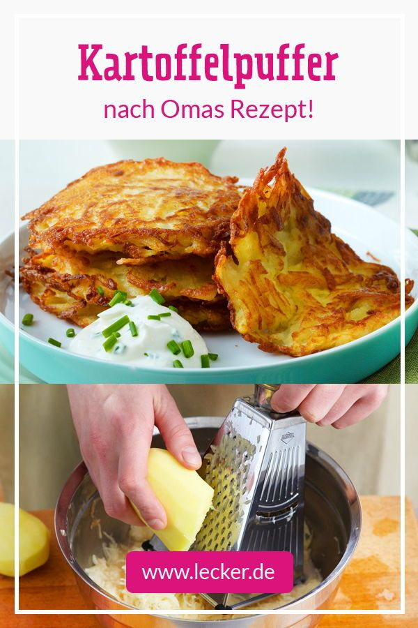 Photo of Make potato pancakes yourself – the best recipe | DELICIOUS