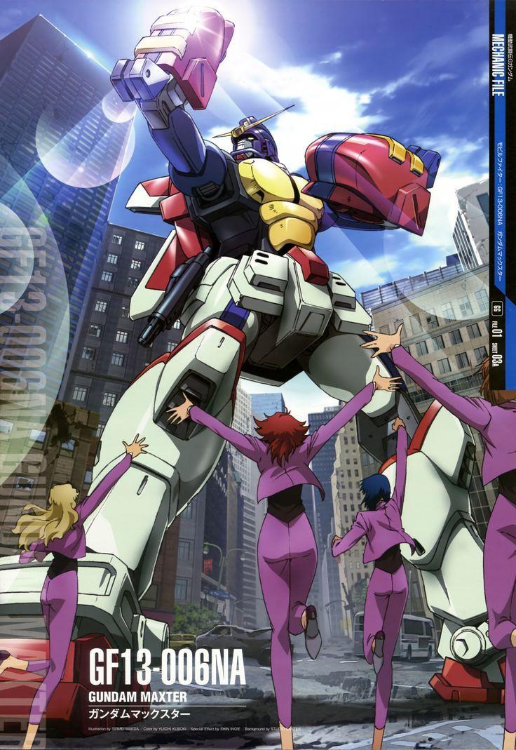 Behold! Gundam Maxter!