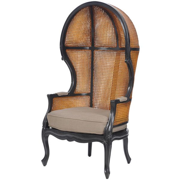 French Rattan Balloon Chair ($1695) ? liked on Polyvore featuring home furniture  sc 1 st  Pinterest : french rattan chairs - Cheerinfomania.Com