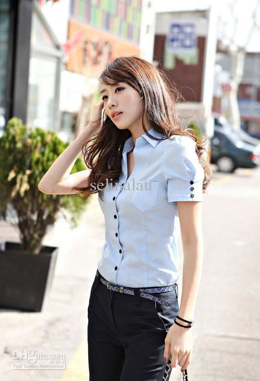 casual short sleeved women's shirts - Google Search | My Style ...